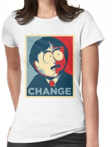 South Park Change  Womens Fitted T-Shirt