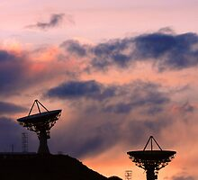 Colorful Sunset Communications by Bo Insogna