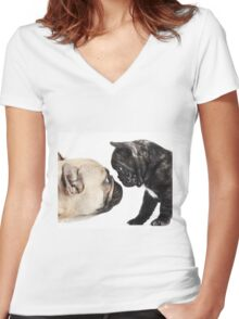 Baby Love Women's Fitted V-Neck T-Shirt