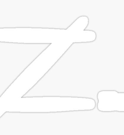 Zzzz Sticker