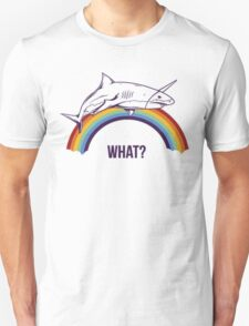 Rainbow Shark Unisex T-Shirt