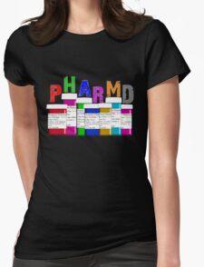 Pharmacist PharmD Prescription Bottles Womens Fitted T-Shirt