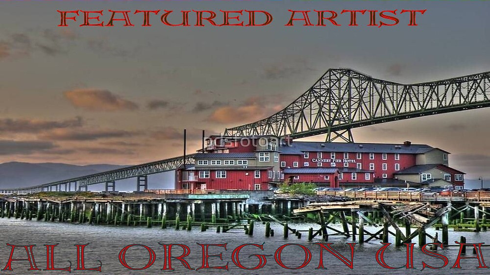 All Oregon USA Banner by pdsfotoart