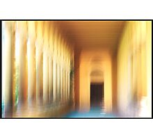 The Colonnade     Photographic Print