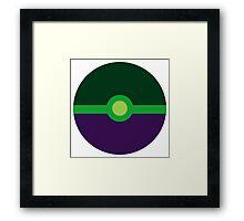 Hulk Ball Framed Print