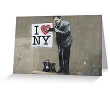 I LOVE NY Greeting Card