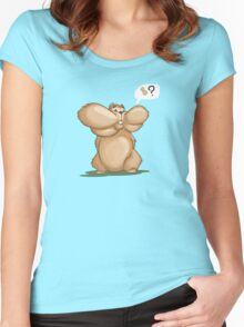 what nut? Women's Fitted Scoop T-Shirt