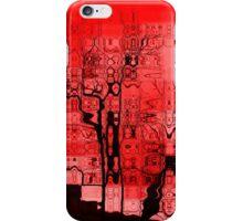 Ciel rouge iPhone Case/Skin