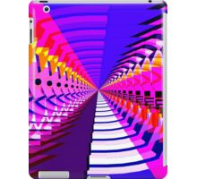Abstract / Psychedelic Radial Pattern iPad Case/Skin