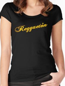 Reggeaton Women's Fitted Scoop T-Shirt