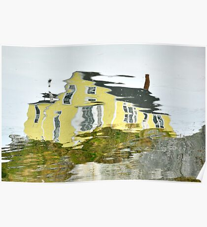 The Yellow House in Nova Scotia Poster