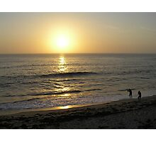 Wedding Pictures on LaJolla Beach, California Photographic Print