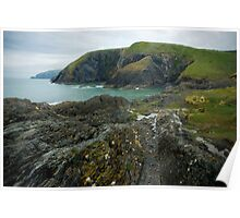 Welsh Coastline Poster