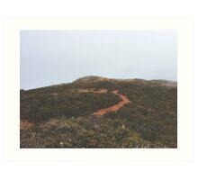 edge of nowhere Art Print