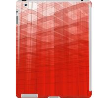 Red Abstract 3D Construct iPad Case/Skin