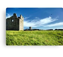 Ruins of an ancient settlement Canvas Print