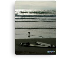 2 Surfboards Canvas Print
