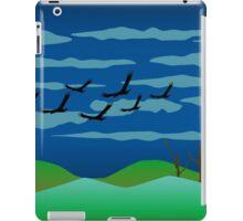 Free Birds in Dark Night iPad Case/Skin