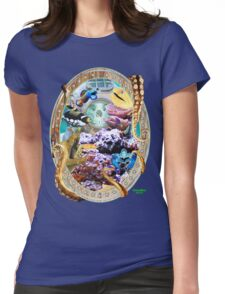 Coral Reef Marine Fish T-Shirt Womens Fitted T-Shirt