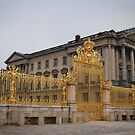 Gates to the Palace of Versailles, France by Laura Cooper