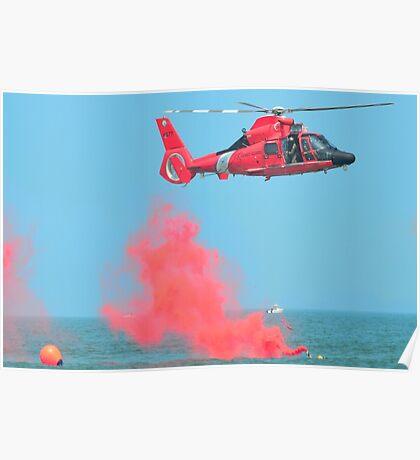 U.S. Coast Guard - Rescue Poster