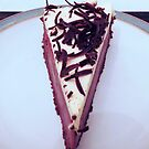 Dark Chocolate Cheesecake by BlueMoonRose