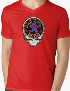 Grateful Dead Vector Mens V-Neck T-Shirt