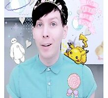 Phil Lester/AmazingPhil by warmsugarshoppe