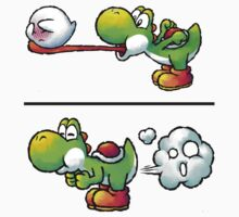 Farting Yoshi One Piece - Long Sleeve