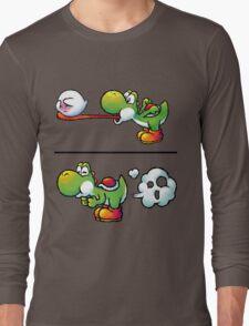 Farting Yoshi Long Sleeve T-Shirt