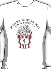 Serving Sizes T-Shirt