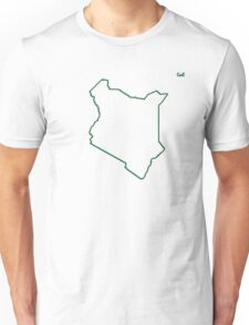 "Kenya ""Citizen of the Earth"" large Unisex T-Shirt"
