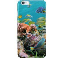 underwater sea life colors iPhone Case/Skin