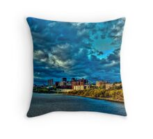 Washington Height and Inwood (HDR) Throw Pillow