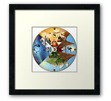 The Cycle of the Seasons Framed Print