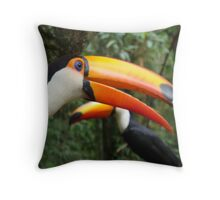 2 Can Throw Pillow