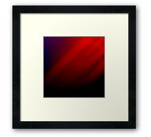 Abstraction of a Super Man Framed Print