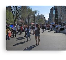 Easter Sunday in Union Square Canvas Print