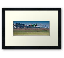 Flying Lion – ZU-BEU - Harvard Aerobatic Team Framed Print