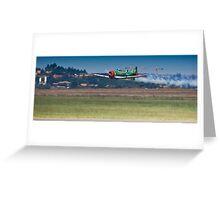Flying Lion – ZU-BEU - Harvard Aerobatic Team Greeting Card