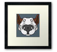 EBT Dog Grin Framed Print