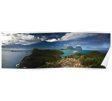 Lord Howe Island Panorama Poster