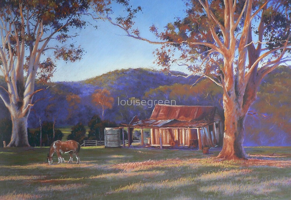 Evening Tapestry  - McDonald's Farm, Dyers Crossing by louisegreen