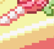 Pixel Cake Sticker