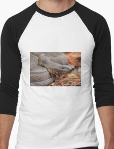 Water Snake Men's Baseball ¾ T-Shirt