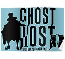 Ghost Host by Topher Adam Poster