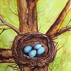 Robin's Nest by Carrie Glenn