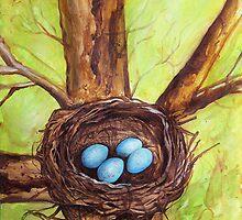 Robin's Nest by Carrie Glenn