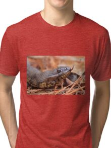Forked Tongue Tri-blend T-Shirt