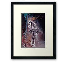 Love is Illusion Framed Print